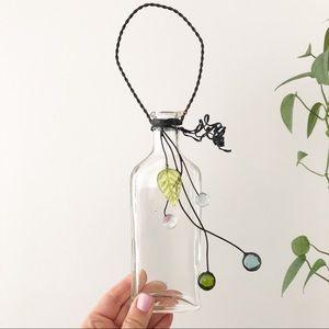 Vintage Glass Propagation Bud Hanging Vase